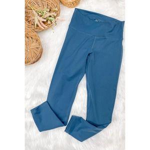 Echt Teal blue Scrnch Leggings Medium